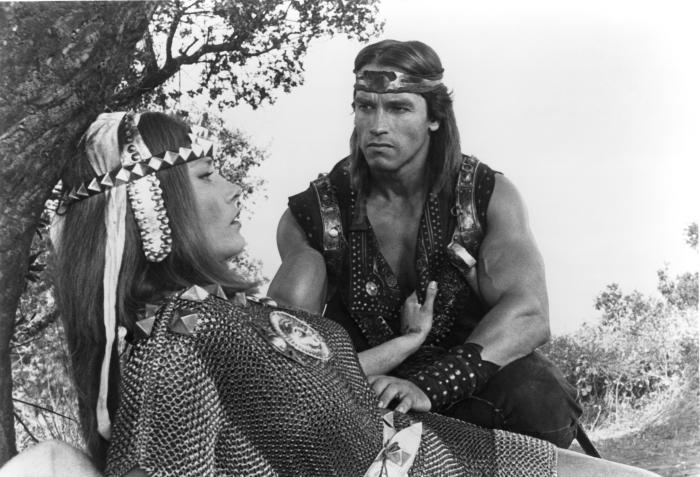 RED SONJA  Arnold Schwarzenegger  1985    169  Famous Films Dino De    Red Sonja Arnold Schwarzenegger