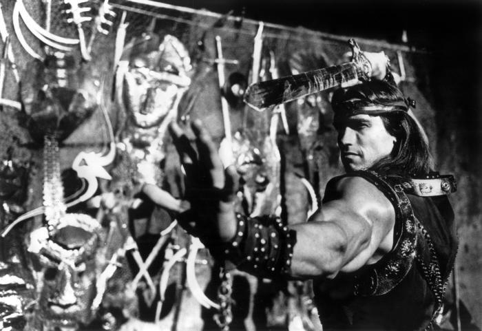 RED SONJA  Arnold Schwarzenegger  1985Red Sonja Arnold Schwarzenegger