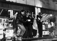 RAPPIN', Richie Abanes, Mario Van Peebles, Melvin Plowden, Eric LaSalle, Kadeem Hardison, 1985. ©MGM/courtesy Everett