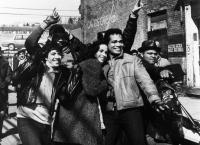 RAPPIN', Richie Abanes, Eric LaSalle, Tasia Valenza, Mario Van Peebles, Melvin Plowden, 1985. ©MGM/courtesy Everett