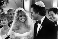 PRIVATE BENJAMIN, left: Barbara Barrie, Sam Wanamaker, Goldie Hawn, Albert Brooks, 1980. © Warner Bros.
