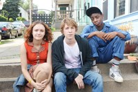 ME AND EARL AND THE DYING GIRL, (aka ME,& EARL & THE DYING GIRL), from left: Olivia Cooke, Thomas Mann, RJ Cyler, 2015. ph: Anne Marie Fox/TM & copyright © Fox Searchlight Pictures. All rights reserved