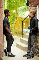 ME AND EARL AND THE DYING GIRL, (aka ME,& EARL & THE DYING GIRL), from left: RJ Cyler, Thomas Mann, 2015. ph: Anne Marie Fox/TM & copyright © Fox Searchlight Pictures. All rights reserved