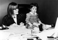 BABY BOOM, Diane Keaton, Michelle Kennedy, 1987