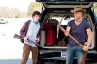 ZOMBIELAND, from left: Jesse Eisenberg, Woody Harrelson, 2009. Ph: Glen Wilson/©Columbia Pictures