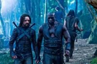 UNDERWORLD: RISE OF THE LYCANS, from left: Michael Sheen, Kevin Grevioux, 2009. ©Screen Gems