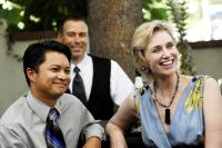 TRU LOVED, front, from left: Alec Mapa, Jane Lynch, 2008. ©Here! Films