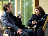 THINGS WE LOST IN THE FIRE, producer Sam Mendes, director Susanne Bier, on set, 2007. ©Paramount