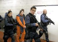 S.W.A.T., Michele Rodriguez, Olivier Martinez, Colin Farrell, Samuel L. Jackson, 2003, (c) Columbia