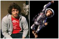 SPACE CHIMPS, Andy Samberg (left), voice of Ham III (right), 2008. TM and ©Copyright Twentieth Century Fox. All rights reserved.