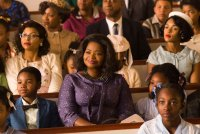 HIDDEN FIGURES, Taraji P. Henson (eyeglasses), Octavia Spencer (center), Janelle Monae (back right), 2017. ph: Hopper Stone/TM and © copyright Fox 2000 Pictures.  All rights reserved.
