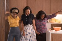 HIDDEN FIGURES, from left: Janelle Monae, Taraji P. Henson, Octavia Spencer, 2017. ph: Hopper Stone/TM and © copyright Fox 2000 Pictures.  All rights reserved.