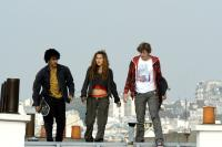 SKATE OR DIE, from left: Idriss Diop, Elsa Pataky, Mickey Mahut, 2008. ©Pathe Films