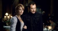 SHERLOCK HOLMES, from left: Kelly Reilly, Jude Law, 2009. ©Warner Bros.