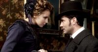 SHERLOCK HOLMES, from left: Kelly Reilly, Jude Law, 2009. ph: Alex Bailey/©Warner Bros.
