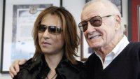 WE ARE X, from left: Yoshiki, Stan Lee, 2016. © Drafthouse Films