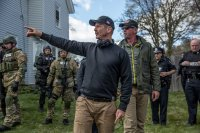 PATRIOTS DAY, DIRECTOR PETER BERG ON SET, 2016. PH: KAREN BALLARD/©CBS FILMS