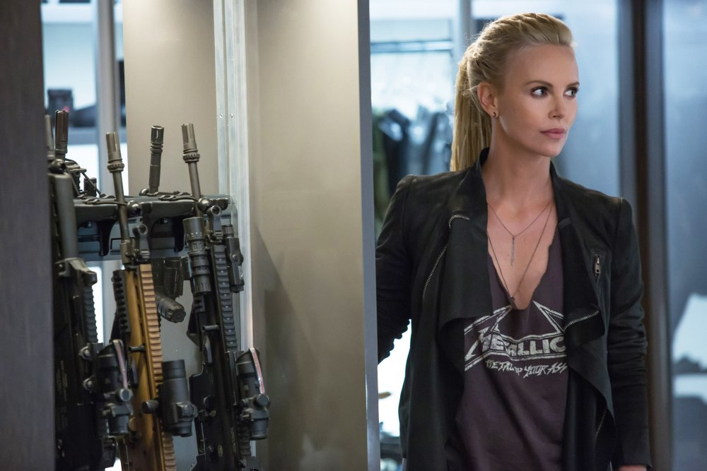 FAST & FURIOUS 8, (AKA THE FATE OF THE FURIOUS), CHARLIZE THERON, 2017. PH: MATT KENNEDY. ©UNIVERSAL STUDIOS