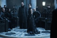 UNDERWORLD: BLOOD WARS, SEATED L-R: BRIAN CASPE, DAISY HEAD, JAN NEMEJOVSKY, STANDING L-R: JAMES FAULKNER, LARA PULVER, 2016. PH: LARRY HORRICKS/©SCREEN GEMS