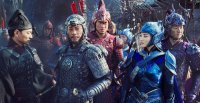 THE GREAT WALL, FROM LEFT: ANDY LAU, ZHANG HANYU, KENNY LIN, JING TIAN, HUANG XUAN, 2016. © UNIVERSAL PICTURES
