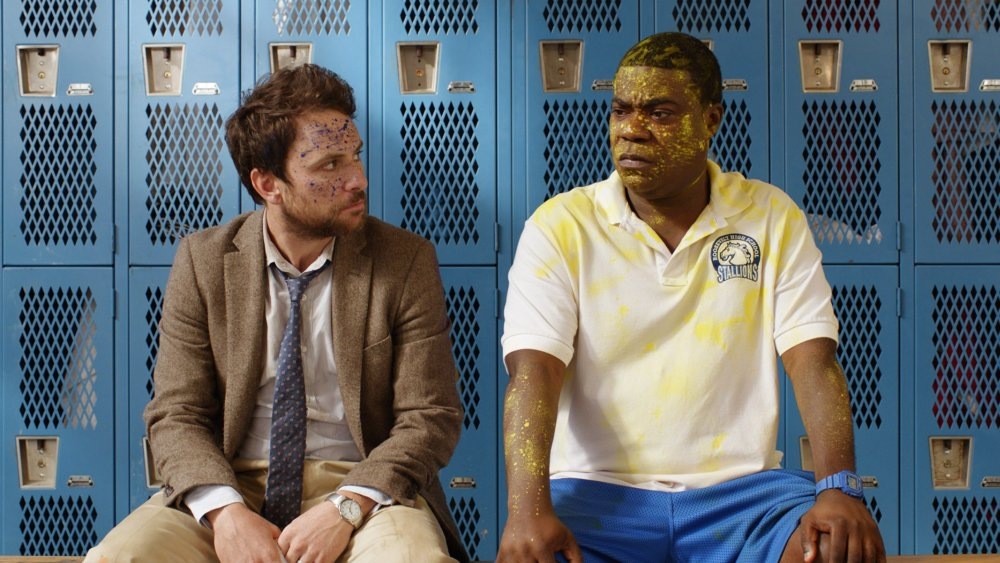 FIST FIGHT, FROM LEFT: CHARLIE DAY, TRACY MORGAN, 2017. © WARNER BROS.