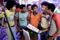ROLL BOUNCE, Rick Gonzalez, Marcus T. Paulk, Jurnee Smollett, Bow Wow, Khleo Thomas, Brandon T. Jackson, 2005, (c) Fox Searchlight