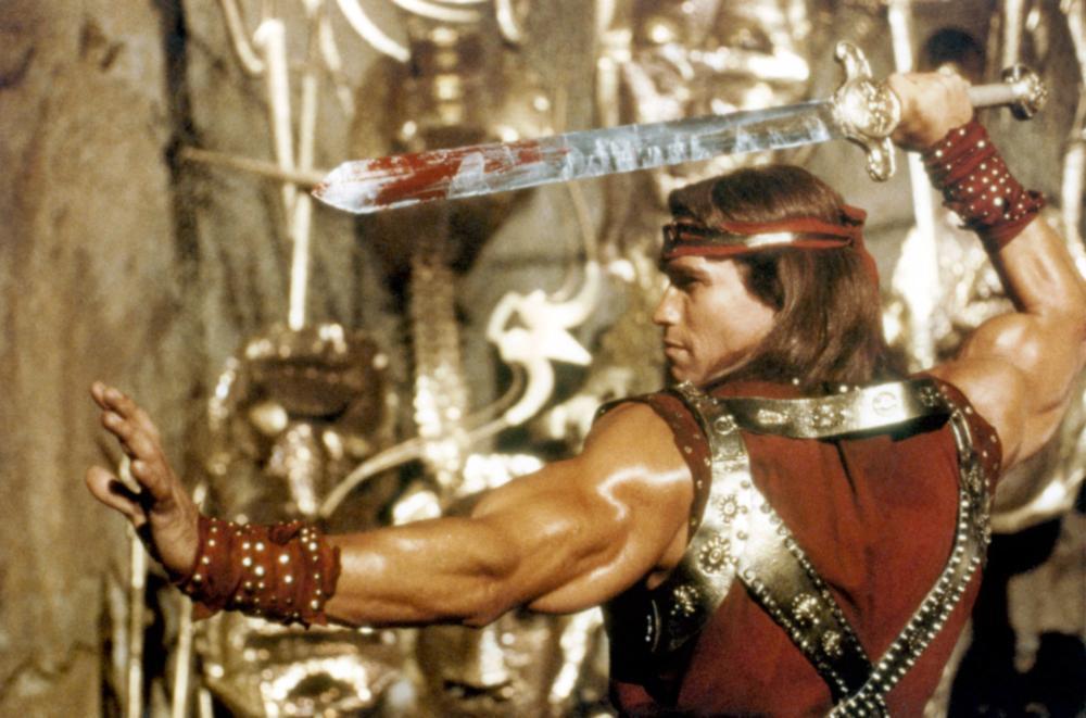 RED SONJA  Arnold Schwarzenegger  1985    169 MGMRed Sonja Arnold Schwarzenegger