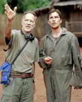 RESCUE DAWN, director Werner Herzog, Christian Bale, on set, 2006. ©MGM