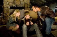 RACE TO WITCH MOUNTAIN, from left: AnnaSophia Robb, Alexander Ludwig, Dwayne Johnson, 2009. ©Walt Disney Co.