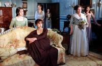 PRIDE AND PREJUDICE, Jena Malone, Rosamund Pike, Keira Knightley, Brenda Blethyn, Carey Mulligan, 2005, (c) Focus Features