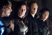 PANDORUM, from second left left: Antje Traue, Ben Foster, Cung Le,  2009. ©Overture Films