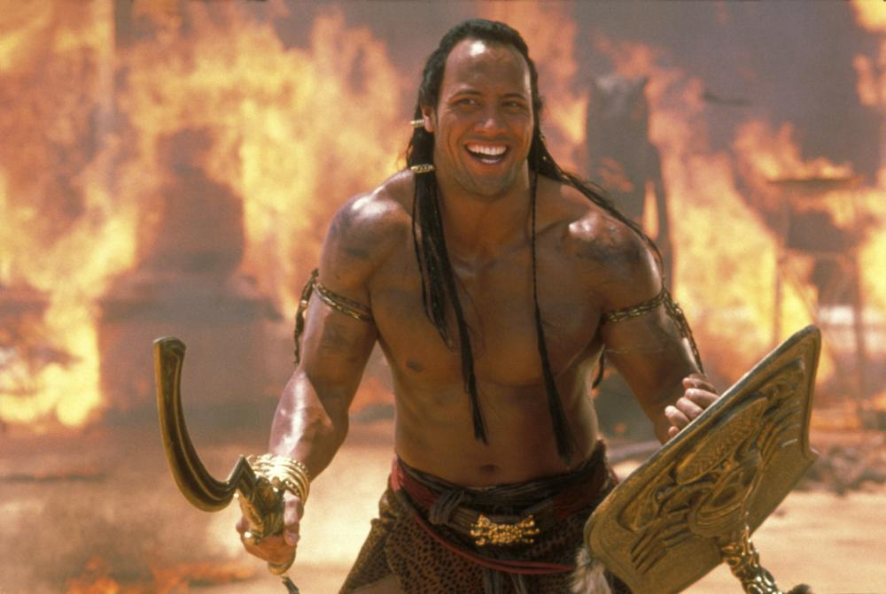 THE MUMMY RETURNS, Dwayne Johnson (aka The Rock), 2001. ©Universal