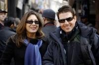 MISSION: IMPOSSIBLE III, Producers Paula Wagner, Tom Cruise, on set, 2006, (c) Paramount