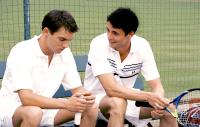 MATCH POINT, Jonathan Rhys Meyers, Matthew Goode, 2005, (c) DreamWorks