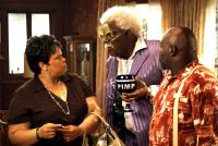 MADEA GOES TO JAIL, from left: Tamela J. Mann, Tyler Perry, David Mann, 2009. ©LionsGate