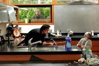 MARTIAN CHILD, Richard Schiff (background), John Cusack, Bobby Coleman, 2007. ©New Line Cinema
