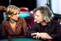 LUCKY YOU, Jennifer Harman, director Curtis Hanson, on-set, 2007. (c) Warner Bros. /