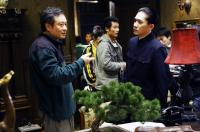 LUST, CAUTION, (aka SE, JIE), director Ang Lee (left), Tony Leung Chiu Wai (right), on set, 2007. ©Focus Features