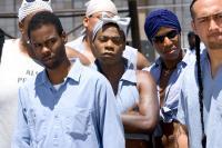 THE LONGEST YARD, Chris Rock, Tracy Morgan, 2005, (c) Paramount