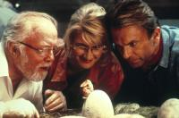 JURASSIC PARK, Richard Attenborough, Laura Dern, Sam Neill, 1993, (c) Universal