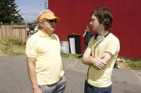 HOT ROD, producer Lorne Michaels, director Akiva Schaffer, on set, 2007. ©Paramount