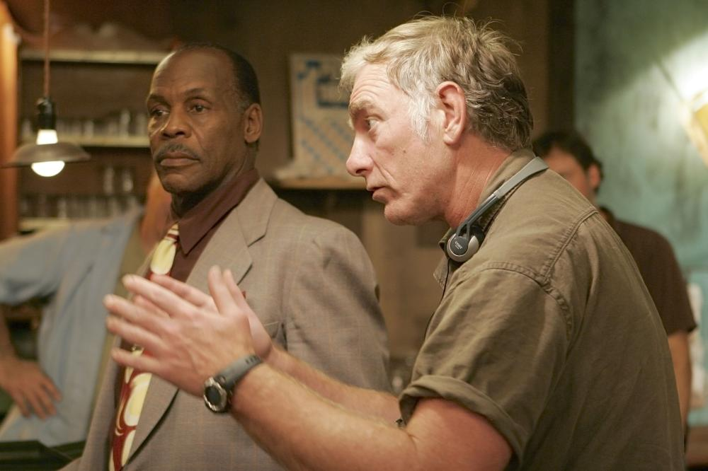 HONEYDRIPPER, Danny Glover, director John Sayles, on set, 2007. ©Emerging Pictures