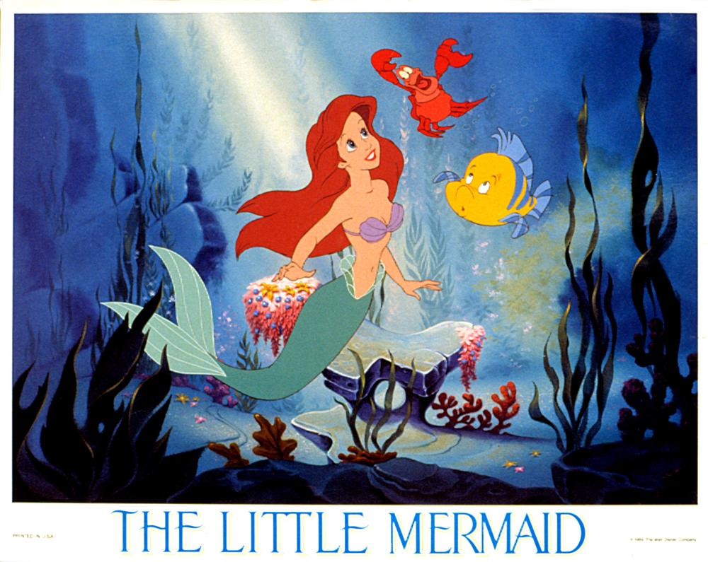 LITTLE MERMAID, THE, Disney animation, 1989