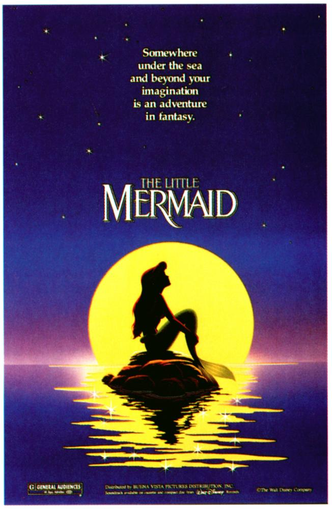 THE LITTLE MERMAID, Ariel, 1989, ©Walt Disney Pictures
