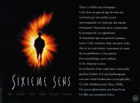 THE SIXTH SENSE, (aka SIXIEME SENS), Haley Joel Osment, 1999, © Buena Vista