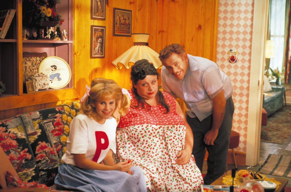 HAIRSPRAY, Leslie Ann Powers, Divine, Jerry Stiller, 1988, (c) New Line