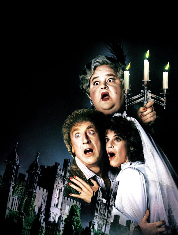 HAUNTED HONEYMOON, Gene Wilder, Dom De Luise, Gilda Radner, 1986, (c) MGM