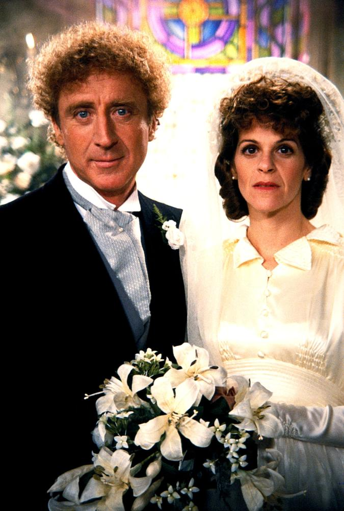HAUNTED HONEYMOON, Gene Wilder, Gilda Radner, 1986, (c) MGM