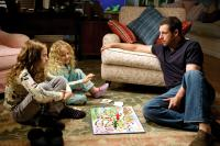 FUNNY PEOPLE, from left: Maude Apatow, Iris Apatow, Adam Sandler, 2009. Ph: Tracy Bennett/©Universal