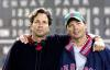 FEVER PITCH, directors Peter Farrelly, Bobby Farrelly on set, 2005, TM & Copyright (c) 20th Century Fox Film Corp. All rights reserved.